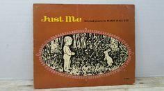 Just Me, 1965, Marie Hall Ets, vintage kids book by RandomGoodsBookRoom on Etsy