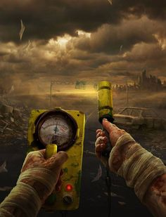 New Apocalypse Art People Mad Max Ideas Post Apocalypse, Nuclear Apocalypse, Nuclear War, Apocalypse Survival, Nuclear Energy, Mad Max, Steampunk Accessoires, Post Apocalyptic Art, Surreal Photos