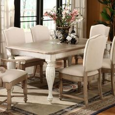 Traditional Dining Tables - riverside coventry     hayneedle
