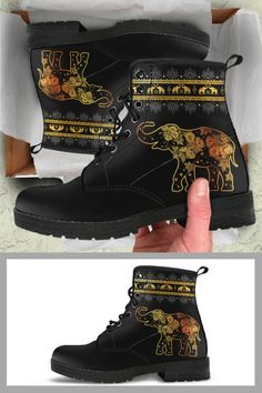 Check out our premium boots for elephant lovers!  More than 500 reviews on our site!
