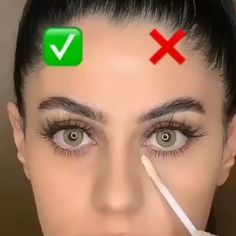Eyebrow Makeup Tips, Makeup Tutorial Eyeliner, Beauty Makeup Tips, Contour Makeup, Diy Makeup, Makeup Videos, Eyeshadow Makeup, Makeup Order, Eye Makeup Designs