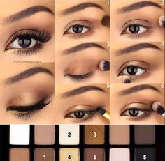 It's as easy as Create sultry smokey eyes for day with Maybelline The Nudes palette. Browns, bronzes, and taupes look pretty on their own and killer combined. Source by Maybelline Eye Makeup Tips, Makeup Hacks, Skin Makeup, Makeup Eyeshadow, Makeup Tutorials, Makeup Ideas, Makeup Brushes, Eyeshadow Brushes, Eyeshadow Tutorials