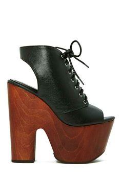 Shoe Cult Rising Up Platform Sandal - Black