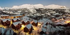 Most parts of Norway offer diverse accommodation, ranging from historic fjord hotels and urban boutique hotels to camping, glamping, and mountain cabins. Crystal Ski, Come And Take It, Ski Holidays, Be Perfect, Glamping, Norway, Mount Everest, Skiing, Winter