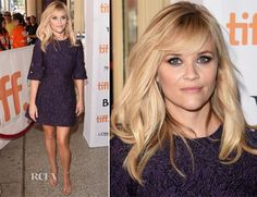 Reese Witherspoon In Dolce & Gabbana - 'The Good Lie' Toronto Film Premiere