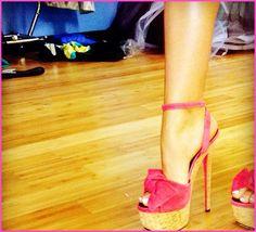 Zendaya Coleman Shows Off Her Beautiful Pink High Heels