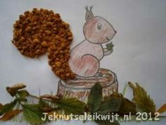 E and I have been trying out some squirrel crafts for next term as we have a large amount of orange tissue paper remaining from the fox paper plate craft. Autumn Crafts, Autumn Art, Nature Crafts, Autumn Theme, Animal Crafts For Kids, Fall Crafts For Kids, Kids Crafts, Fall Preschool, Preschool Crafts