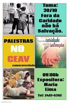CEAV Convida para a sua Palestra Pública - Pavuna – RJ - http://www.agendaespiritabrasil.com.br/2016/10/29/ceav-convida-para-sua-palestra-publica-pavuna-rj-20/