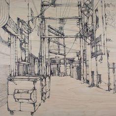Jon Shaw, work in progress