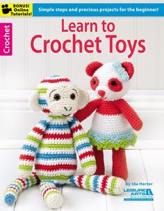 Picture of Learn to Crochet Toys. Holiday gift making!