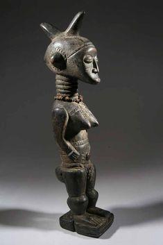 La statue Baoulé est une expression parfaite de l' art africain