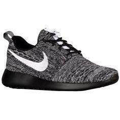 Nike Roshe Ejecutar Negro Moteado Vela Ukelele