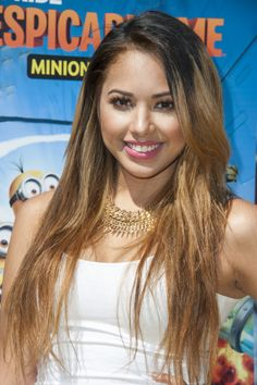 Jasmine Villegas attends Universal Studios Hollywood Celebrates The Premiere Of New Ultra HD digital Animation Adventure 'Despicable Me Minion Mayhem' at Universal Studios Hollywood on April 2014 in Universal City, California. Universal City, Universal Studios, Nick Jonas Smile, Jasmine Villegas, Minion Mayhem, Minion Movie, I Want To Cry, Pharrell Williams, Shakira