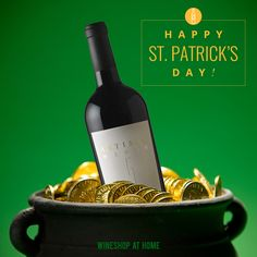 May your day be touched by a bit of Irish luck. Happy St. Patrick's Day!