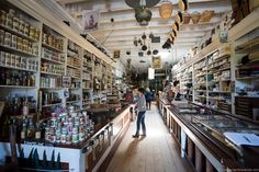 Litsch General Store located within the Shasta State Historical Park located 6 miles west of Redding, California