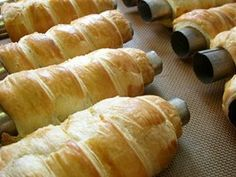 a sníh! do nich Russian Recipes, Desert Recipes, Veggie Recipes, Deserts, Rolls, Food And Drink, Veggies, Bread, Cooking