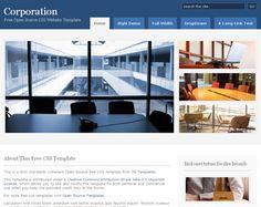 5 Corporate Website Templates Free