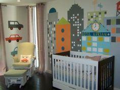 Pintura de paredes para habitaciones de bebés