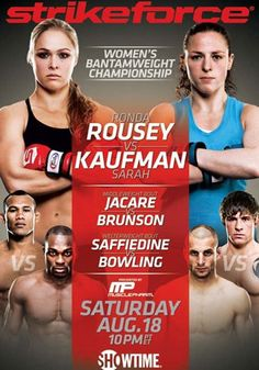 Strikeforce: Rousey vs. Kaufman (2012)…