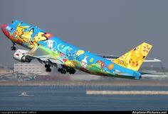 ANA - All Nippon Airways JA8956 Pokemon aircraft at Tokyo - Haneda Int