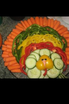 Happy Thanksgiving...Healthy snack!