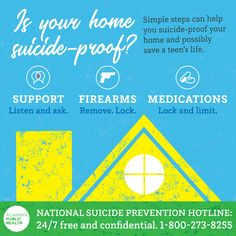 It's Is your home If not, take these simple steps that could save someone's life. Teen Life, Injury Prevention, Public Health, How To Remove, Medical, Simple, Medicine, Active Ingredient