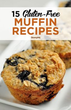 Muffins are an easy, healthy breakfast or snack on-the-go, but they're usually filled with flour. Not this list of gluten-free muffin recipes: they're grain-free and delicious. Clean Eating Slow Cooker Recipe, Clean Eating Recipes For Dinner, Clean Eating Snacks, Breakfast On The Go, Healthy Breakfast Recipes, Healthy Desserts, Breakfast Dishes, Breakfast Options, Healthy Recipes
