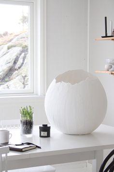 DIY | Large Plaster Eggs