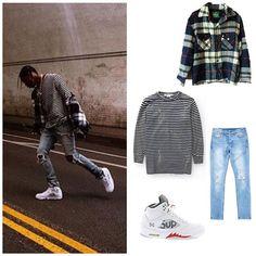 3d40b24638eae0 Travis Scott s Outfit ( laflamefits) • Fotos y videos de Instagram Travis  Scott Outfits