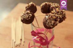 كرات البسكويت والنوتيلا  Biscuits and Nutella Balls