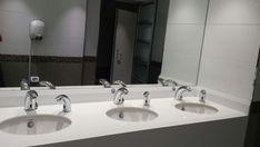 Swan 1000 faucet & Swan Soap Dispenser at Beer Yaakov Shopping Mall, Israel