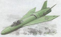 Nazi Germany Messerschmitt P.1110 Interceptor Free Aircraft Paper Model Download - http://www.papercraftsquare.com/nazi-germany-messerschmitt-p-1110-interceptor-free-aircraft-paper-model-download.html#AircraftPaperModel, #Interceptor, #MeP1110, #MesserschmittP1110, #WWII