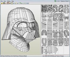 Mauther Papermau uploaded this image to 'Sci-fi See the album on Photobucket. Darth Vader Helm, Dark Vader, Vader Helmet, Vader Star Wars, Star Wars Art, Star Wars Crafts, Human Sculpture, Cardboard Sculpture, Cosplay Armor