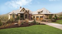 ePlans European House Plan – European Estate – 4357 Square Feet and 5 Bedrooms from ePlans – House Plan Code HWEPL75741