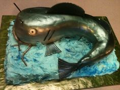 Catfish Birthday Cake