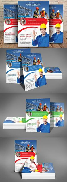 Construction Flyer Templates By Party Flyers On Creativemarket