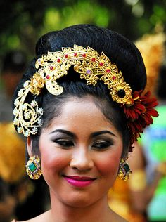 Beautiful Headgear - Bali - Indonesia