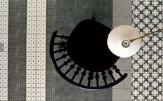 Gimmii Magazine | De Azulej tegelcollectie is de vierde collectie voor Mutina, maar de eerste waar digitaal geprinte patronen aan te pas kwamen. Simpel en industrieel.