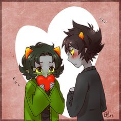 Not my personal pairing, but Nepeta's too cute :3  Homestuck