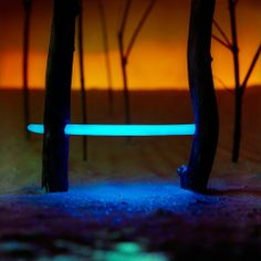 Photographic Landscape Light Installations