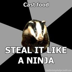 .....do other casts not share their food with techs?