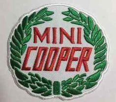 Classic-Mini-Cooper-Logo-Badge-Patch-Sew-Iron-on-7-5cm