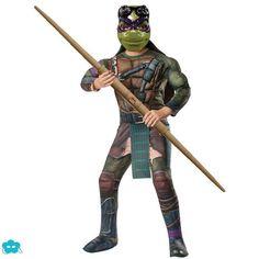 Disfraz de Donatello Tortugas Ninja movie para niño