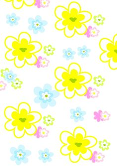 FREE printable floral pattern paper