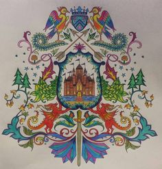 Coat Of Arms Castle Find This Pin And More On Enchanted Forest