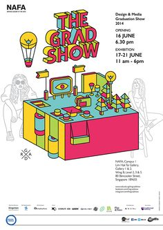 guys, click the link to check out the whole exhibition directions. including the exhibition set up. (:   TheGradShow 2014 on Behance