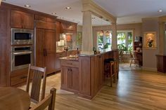 split entry remodel before and after | KITCHEN IN SAME SPACE AS ORIGINAL, BUT BETTER ORGANIZATION NOW PERMITS ...