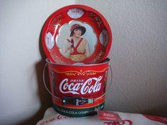 Coca Cola bucket/platter