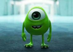 Monster's University, little Mike