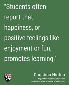 Christina Hinton, Adjunct Lecturer on Education. #hgse #happiness #students @harvarded
